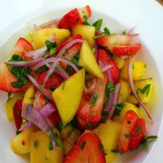 Mango Strawberry Salad - Private Chefs Of Atlanta